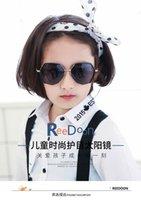 новый модный рынок оптовых-2019 новый рынок мода взрыв солнцезащитные очки Мода родитель-ребенок солнцезащитные очки мальчики и девочки ослепительно очки круглая рамка