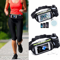 Wholesale running water bottle holder for sale - Group buy Outdoor Casual Sports Running Hiking Jogging Water Bottle Holder Fashion Pouch Belt Waist