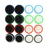 Wholesale joystick rubber ps4 grips for sale - Group buy Hot Sale Non slip Rubber Silicone Joystick Cap Thumb Stick Joystick Grip Grips Caps For PS4 PS3 Xbox one Controller