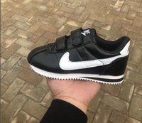 children s sports shoes size al por mayor-Los zapatos corrientes de la marca infantil zapatos de deporte casual niños y niñas zapatillas de deporte de los niños para los niños tamaño 25-35
