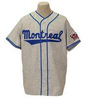 velho basebol venda por atacado-Montreal Royals Baseball Jersey # 9 Personalizável Qualquer Número de Logos Logos Old School Baseball Jersey S-4XL Frete Grátis