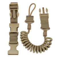 Wholesale rope cars resale online - Multi Functional Tactical Lanyard Gun Rope Safety Rope Anti Lost Outdoor Army Fan Spring Wear Resistant Elastic Keychain car