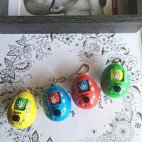 pussy geschenk großhandel-Überraschung Eier Spielzeug Cupule Kids Action Spielzeug Pocket Pussy Lustiges Geschenk Mini Kunststoff Stein Schere Tuch Raten Ändern Sie das Gesicht Spielzeug Twisted Egg