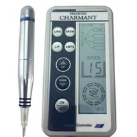 Wholesale make permanent tattoo pen for sale - Group buy Charmant Semi permanent Makeup Machine Kit For Eyebrow Tattoo Lip eyeliner MTS Microblading Pen Set Eye Make up Beauty Care