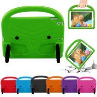 Wholesale kindle handle for sale - Group buy EVA Handle Stand Kids Children Foam Case For Apple Ipad mini Shockproof Cover Tablet Case
