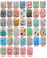Wholesale baby diapers designs resale online - Reusable Nappies New Positioning and Printed Design Reusable Washable Pocket Cloth Diaper Potty Training Pants for Baby