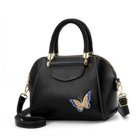 Wholesale butterfly print handbags resale online - good qualitySeashell Women s Handbag Embroidered Crossbody Bags For Women Butterfly Print Luxury Handbags Women Bags Designer