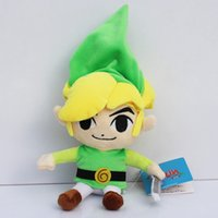 Wholesale toy links resale online - 5pcs inch Link plush toys Global cm Holdings toy dollMX190925