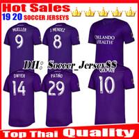 tops für clubbing großhandel-Neue 2019 2020 MLS Futbol Club Orlando City hochwertige Heimtrikot 19 20 Orlando City Heimtrikot Trikots Uniformen Fußball-Shirts