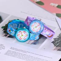 ingrosso vigilanza del fumetto per le ragazze-Dinosauro del fumetto 3D Guarda 11 tipi di stili Morbido silicone cinturino orologi bambini bambini ragazze studenti orologi da polso al quarzo per bambini regali nuovi