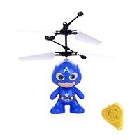 coffre à jouets d'hélicoptère achat en gros de-Flying RC Flying Ball Drone Helicopter Ball Bon jouet pour les enfants Vouge avec boîte de vente au détail (Super Series)
