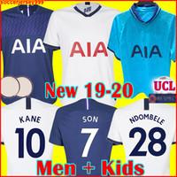 homens jersey venda por atacado-Tottenham hotspur spurs soccer jersey football shirt KANE camisa de futebol 2019 2020 LAMELA ERIKSEN DELE FILHO DIER esporas jerseys 19 20 Camisa de futebol uniformes fora terceiro