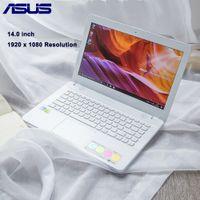 asus için ssd toptan satış-ASUS X441NC 14.0 inç Dizüstü Windows 10 IŞLETIM SISTEMI Intel Apollo Gölü Pentium N4200 Dört Çekirdekli 1.1 GHz CPU 4 GB RAM 256 GB SSD 1.0MP Kamera