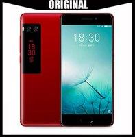 meizu 4g toptan satış-Toptan Orijinal Meizu Pro 7 4G LTE 4 GB RAM 64/128 GB ROM MTK Helio X30 Deca Çekirdek 5.2