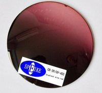 gafas de sol personalizadas al por mayor-SPEIKE lentes de miopía teñidos de alta calidad CR39 Gradient lens color UV400 protección gafas de sol de prescripción