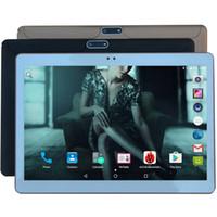 pc de la tableta de la pulgada del envío libre de dhl al por mayor-Tablet PC de 10 pulgadas Octa Core 4G FDD LTE 4GB RAM 32GB ROM Tarjetas SIM dobles Android 7.0 GPS phablet 10 10.1 + Regalos Envío gratuito de DHL