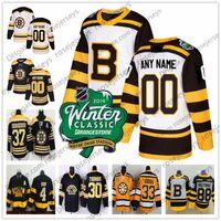 Custom Boston Bruins 2019 Winter Classic White Jersey Any Number Name men  women youth kid Black Third Yellow Vintage Pastrnak Coyle Krug Orr 952c9eace