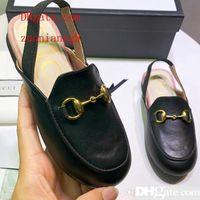 Wholesale boy children s canvas shoes resale online - Unisex Sandals for Toddler Girls Designer Kids Shoes for Sale Genuine Leather Boys Sandals Solid Color Children s Shoes Designer
