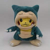 Wholesale ems cosplay online - EMS PKC Cosplay Snorlax CM Plush Doll Stuffed Best Gift Soft Toy