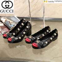Wholesale rubber lips resale online - Liujingang New Year red lips shoes SNEAKERS Dress Shoes Skate Dance Ballerina Flats Loafers Espadrilles Wedges