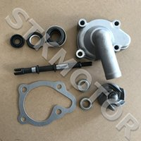 Wholesale engine moped resale online - GOOFIT GY6 cc CF250 CH250cc Engine Part Water Pump Assembly Moped Scooter Go Kart Atv Quad accessory