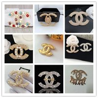 Wholesale animal figures resale online - New Arrival Elegant Brooches Stylish Alloy Bow Brooch Crystal Brooch Pins Women Clothing Suits Accessories Brooches Jewelry