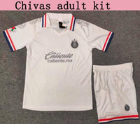 Wholesale club football kits resale online - 2021 Chivas club chivas man soccer jersey adult kit soccer shirt Guadalajara Chivas kit Jersey Mexico Football Shirts