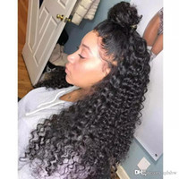 Wholesale brazillian curly lace front for sale - Group buy 13x6 Lace Front Wig Curly Human Hair Pre Plucked Virgin Brazillian Remy Lacefront x6 Frontal Human Hair Wigs For Women With Baby Hair