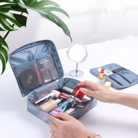 Wholesale travel bags accessories resale online - Multifunction Travel Cosmetic Storage Bag Portable Makeup Bag Toiletries Wash Pouch Storage Cases Suitcase Accessories yq00302