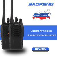 Wholesale handheld ham radio transceivers resale online - 2pcs BAOFENG BF S Walkie talkie UHF MHz channel Portable two way Ham Radio Handheld Transceiver