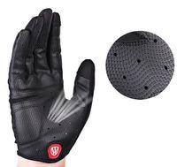 berührungsrad großhandel-Wheel Up Vollfinger-Radhandschuh Anti-Rutsch-Fahrrad-Fahrrad-Handschuhe Touchscreen MTB-Rennrad-Handschuhe Sport Shockproof Gloves