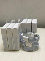 x mini şarj cihazı toptan satış-Perakende ambalaj kutusu ile 1 m 3ft 2 m 6ft OD 3.0mm USB Veri Şarj Kablosu Alüminyum folyo ile usb kablosu için i5 6 7 8 x
