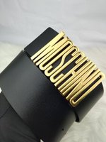accesorios rojos unisex al por mayor-2019 señora de la moda cinturón de oro letras hebilla de ancho cinturón negro y rojo del cuerpo del cuerpo venta caliente accesorios de moda