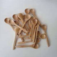 Wholesale wooden scoops for sale - Group buy pack inch wooden spoon Ecofriendly Japan Tableware Bamboo scoop Coffee honey tea spoon Stirrer