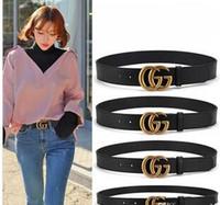 g ceintures hommes achat en gros de-hommes femmes Jeans ceintures Pour hommes Femmes Metal Buckle marques ceintures de taille 100cm-125cm en g