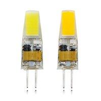 ingrosso lampade per esterni-Lampada a LED G4 AC DC 12V Mini Lampada a LED Lampadina G4 1505 COB Chip Light 360 Le luci ad angolo del fascio sostituiscono il riflettore G4 alogeno 30W