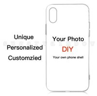 Wholesale phone case custom photo online – custom Custom Design DIY Logo Photo Hard Phone Case For S SE S Plus Customized Printed Back Cover