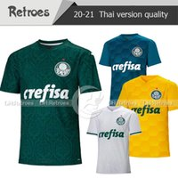Wholesale men melo resale online - 20 Palmeiras Soccer Jersey L ADRI DUDU home green MOISES FELIPE MELO Palmeiras Away white Football Shirt