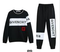convenir les femmes de la rue achat en gros de-19Givenchy survêtement designer mens costumes survêtement rue populaire hip hop hommes femmes sweat coton de haute qualité pantalon décontracté