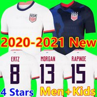 ingrosso pullover di calcio mondiale usa-Coppa d'oro 20 21 America Home away USA Soccer Jersey 2020 2021 copa america Stati Uniti Soccer Shirt USA uomini Calcio CAMICIA Uniforme