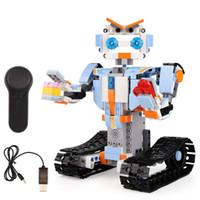 ingrosso robot di mattoni-Yeshin 13004 359 Pz Il Robert M4 Set di Controllo Remoto Robot Modello Building Blocks Mattoni Assemblaggio Giocattoli Bambino Giocattoli Regalo Di Natale
