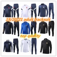 Wholesale 19 Stars french adult tracksuit mbappe griezmann survetement football jogging Equipe de french soccer training suit