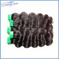 Wholesale hair extensions india for sale - Group buy beautysister hair products unprocessed india virgin remy human hair extensions weaves pieces g natural black color soft and smooth