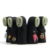 действия хаяо миядзаки оптовых-Студия Ghibli Унесенные духом нет лица человек винил фигурку Миядзаки Хаяо аниме модель 8 см украшения куклы детские игрушки