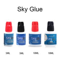 Wholesale glue eyelashes professional for sale - Group buy Korea Glue for Eyelash Extension Kinds Different Korea Glue Sky Glue and Lady Black Best Sensitive Professional Adhesive