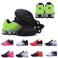 бесплатная доставка nz оптовых-Бесплатная доставка Shox Deliver 809 кроссовки для мужчин, женщин, марки DELIVER OZ NZ, бренд Мужские кроссовки тройной с Спортивный дизайнер кроссовки 36-46