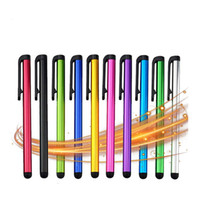 mini canetas venda por atacado-Touch screen capacitiva Stylus Pen para iPad Air Mini Para Huawei Samsung Xiaomi iphone Universal Tablet PC entregas Pencil