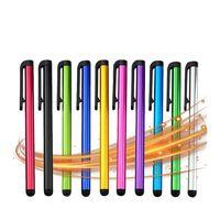 keskin ipad kalemi toptan satış-Kapasitif Dokunmatik Ekran Stylus Kalem İçin IPad Hava Mini İçin Huawei Samsung Xiaomi iphone Evrensel Tablet PC Akıllı Telefon Kalem