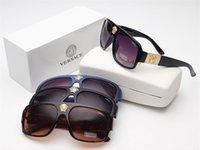 satılık mens güneş gözlüğü toptan satış-Sıcak Satış Yeni En kaliteli Metal Moda Tasarımcısı erkek kadın Lüks Güneş Gözlüğü UV400 gözlük erkek gafas bayan retro Masculino iyi gözlük