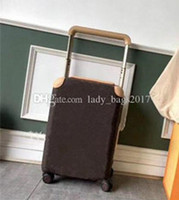 Wholesale carry luggage for sale - Group buy Newset Travel Suitcase Luggage Fashion Men Women Trunk Bag Flowers Letters Purse Rod Box Spinner Universal Wheel Duffel Bags